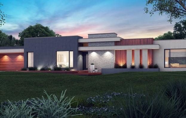 Luxury 3D Façade | D.R Gordon Builders