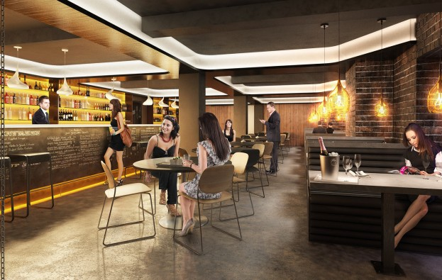 Cafe Bar Elizabeth St Sydney | Foster and Associates