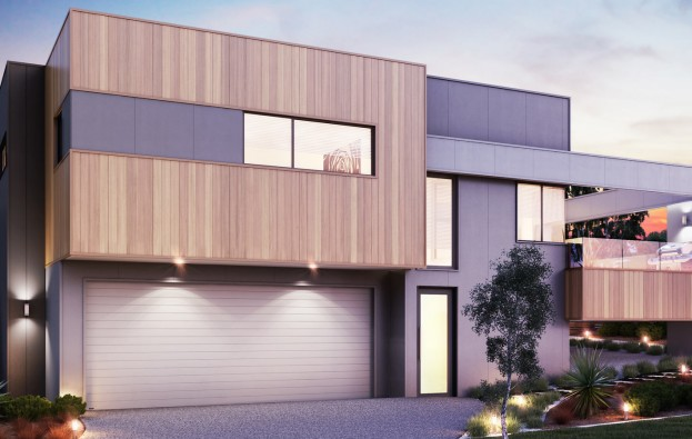 Façade Rendering | David Reid Homes